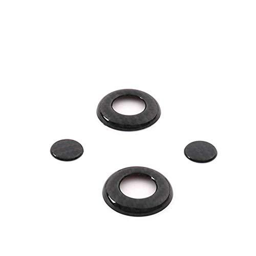 XQRYUB Almohada para el Cuello del Asiento del Coche Ajuste de la Cubierta del botón Etiqueta Interior del Marco del Ajuste, para Mercedes Benz GLC 2016-2019