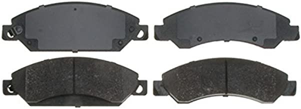 ACDelco 14D1092CH Advantage Ceramic Front Disc Brake Pad Set with Hardware