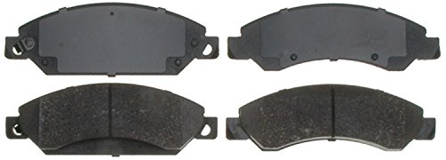 ACDelco Silver 14D1092CH Ceramic Front Disc Brake Pad Set with Hardware