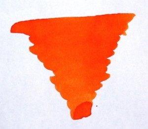 Diamine Encre - Orange flamme/orange blaze - Taille : 80 ml.