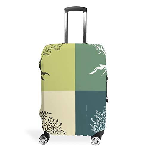 EPLstar - Maleta de Viaje Personalizada con Cuatro Colores