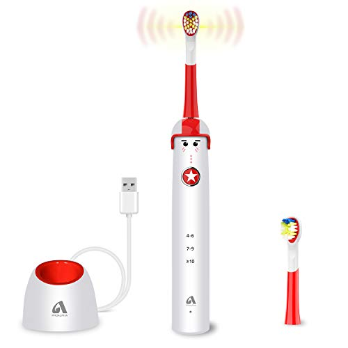 Pro-Alpha Sonic Electric Toothbrush for Kids and Teenagers