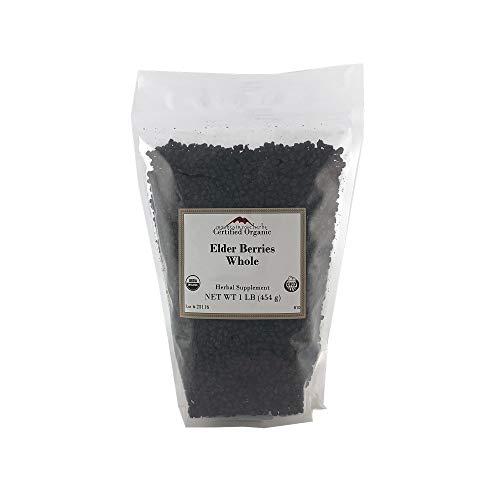 Mountain Rose Herbs Elderberries (Whole) 1 Pound