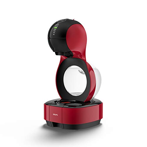 Krups Dolce Gusto Machine à Capsule Nescafe Lumio, automatique, rouge