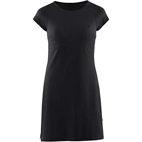 FJALLRAVEN Damen High Coast Dress W Kleid, schwarz, S