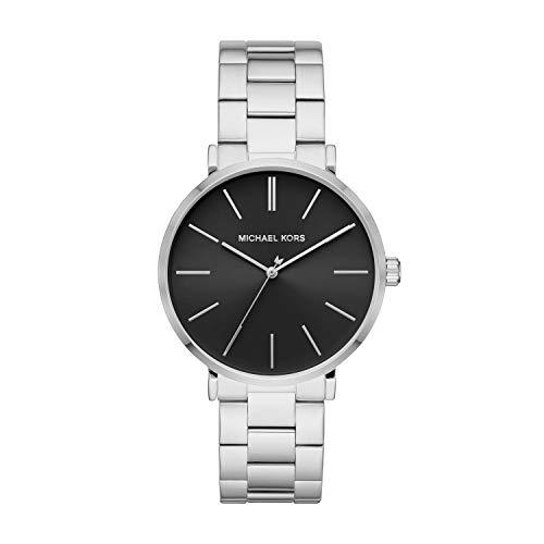 Michael Kors Men's Auden Three-Hand Stainless Steel Watch MK7184