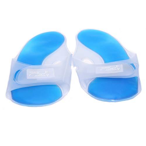 1 Paar Kalt-Warm-Fuß-Wickel zur Pflege und Linderung von Beschwerden in den Füßen