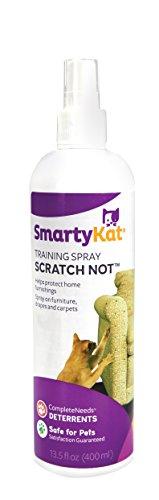 SmartyKat, Scratch Not, Anti-Scratch Spray, Cat Training, Scratch Deterrent, Protects Furniture, Safe, 13.5 Fl Oz