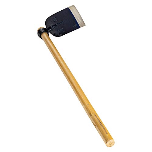 Harbour Housewares Full Size Azada Garden Digging Hoe with Wooden Handle - 120cm