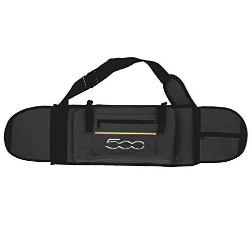 FIAT500 F500SKATEBAGK70 Tasche für Elektro-Skateboard, FIAT 500 F500-SKATEBAGK70, Schwarz, Sport, Größe 74 x 21,5 x 14 cm