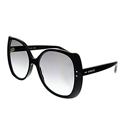 Fashion Shopping Gucci GG0472S BLACK/GREY SHADED 56/17/145 women Sunglasses