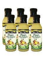 Walden Farms Pear & White Balsamic Vinaigrette Salad Dressing 12Oz 6-Pack