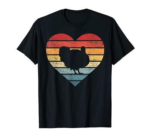 Regalos para amantes del pavo Funny Farmer Retro Vintage Farm Animals Camiseta