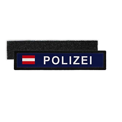 Copytec Patch Polizei Österreich Namenschild Beamter Abzeichen Austria #31845