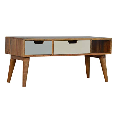 Artisan 2 Drawer Hand Painted TV Unit - Large TV Stand