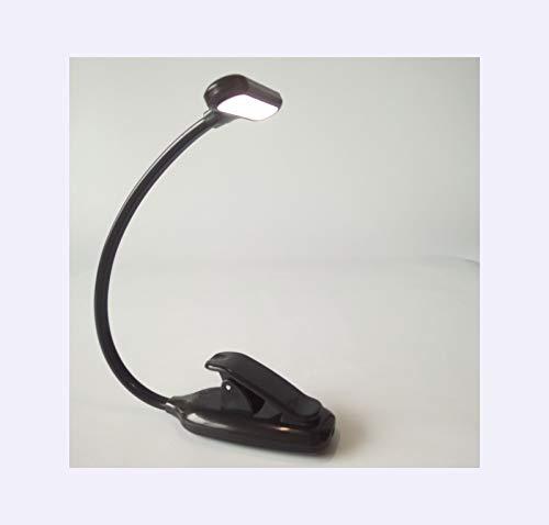 AKKY Luz De Lectura con Clip para Libros,Lampara USB,9 Luces Led para Libros,Brillo Ajustable AlimentacióN USB para Lectura,Estudio Y Trabajo,100 * 45 * 240mm