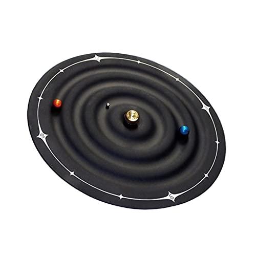 WOERD Reloj Magnético Galaxy Relojes de Mesa Magnéticos Planet Ball Reloj de Escritorio Deco Sun Planet Reloj Entusiastas de la Astronomía Sala de Estar Arte Reloj de Pared