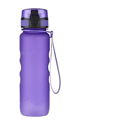 FFto Sport Water Bottle Direct Drink Straw fruit Infuser Bottle Portable Leakproof Gourde Plastic Drinkware