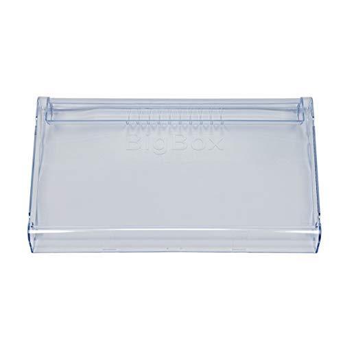 ORIGINAL Bosch Siemens 663722 00663722 Abdeckung Blende Front Tür Schublade Fach Box Korb Kasten Gefrierfach Kühlfach Gefrierschublade vorne 433x282x41mm Gefrierschrank auch für Balay Constructa Neff