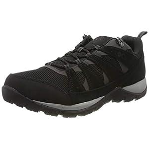Columbia Men's Redmond V2 Waterproof Hiking Shoe, Black/Dark Grey, 11