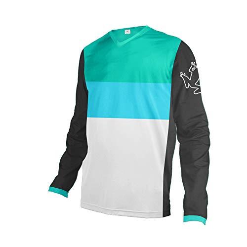 Uglyfrog Downhill Jersey MX MTB DH Trikot Motocross Offroad Große Geschenke für Freund