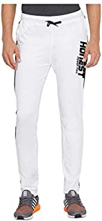 American-Elm Slim Fit Stylish Cotton Printed Sports Trackpant for Men, Cotton Lower for Men