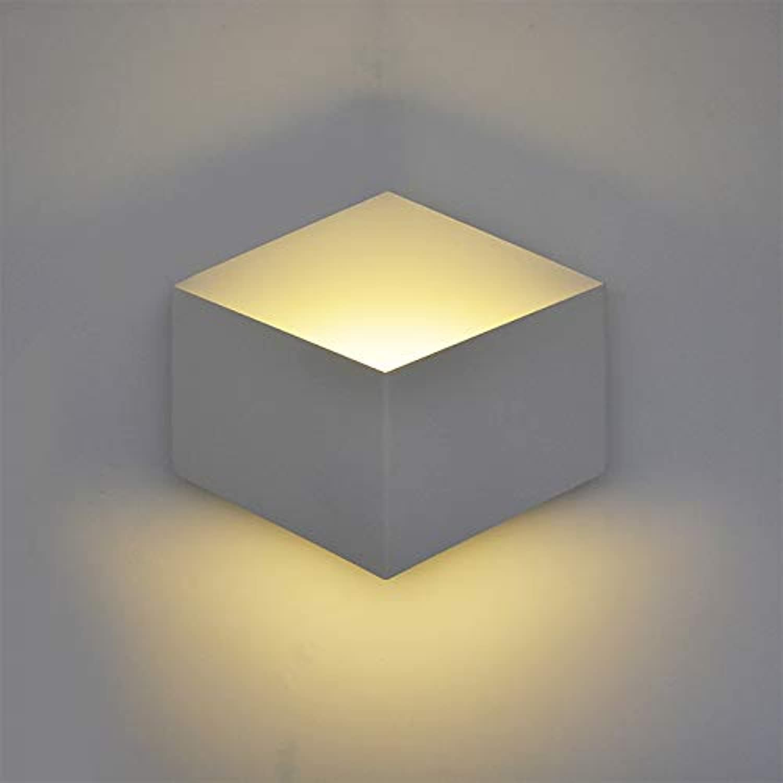 DLKKL LED Wandleuchte Licht 8 Watt Aluminium Wohnzimmer Schlafzimmer Flur Wandleuchte Badezimmer geometrische Wandleuchte AC85-265V