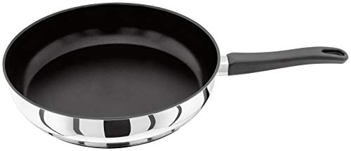Judge Vista J225A Stainless Steel Non-Stick Large Skillet Frying Pan 28cm...