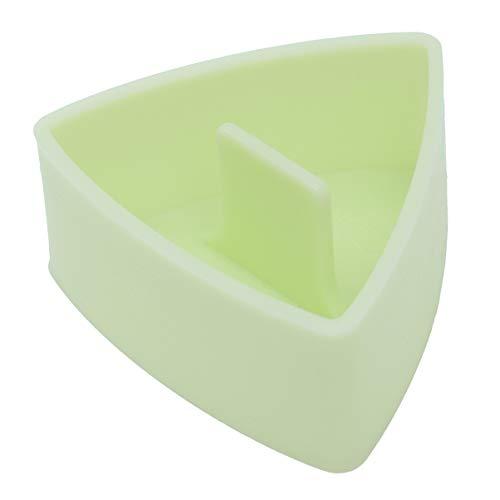 Cabilock Dreieck Sushi Reis Kugel Formpresse Hersteller Bento Fall Box Shaper Bento Zubehör DIY Werkzeug (Hellgrün)