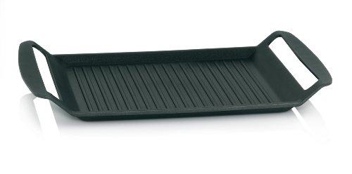 Kela Kerros Grill-hoekpan, gegoten aluminium 5 mm, geschikt voor inductie