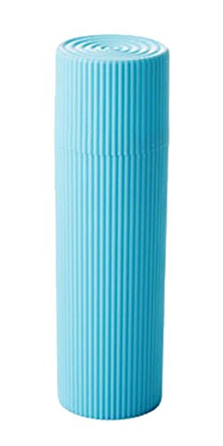 Blancho Tubes de Brosse à Dents Brosse à Dents Portable kit ondulation Coupes, Bleu