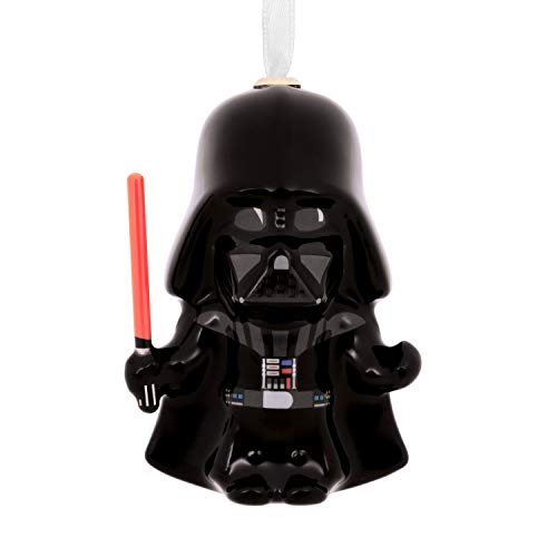 Hallmark Christmas Ornaments, Star Wars Darth Vader With Lightsaber Decoupage Ornament