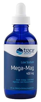 Mega-Mag, Natural Ionic Magnesium with Trace Minerals, 400 mg, 4 fl oz (118 ml)
