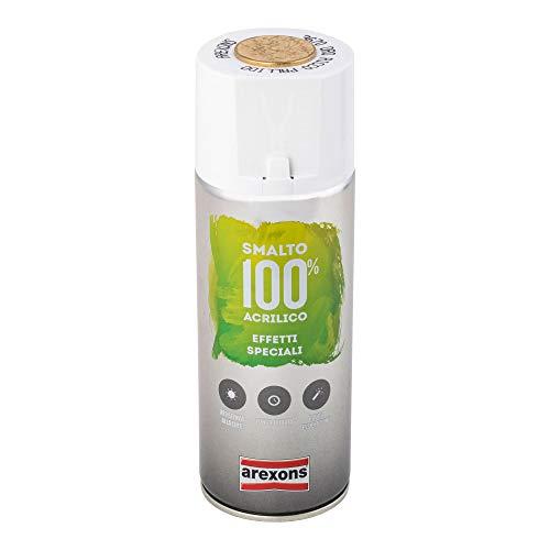 AREXONS SMALTO 100% ACRILICO EFFETTI SPECIALI METALLIZZANTE Smalto spray Oro ricco pallido 400 ml vernice spray universale smalto acrilico resine di alta qualità essiccazione rapida bomboletta spray