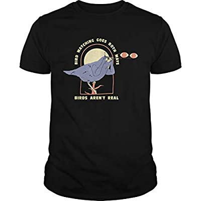 Bird Watching Goes Both Ways Funny Bird Lover Tshirt