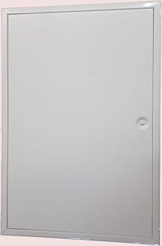 Revisionsklappe Revisionstür Weiß Softline mit Vierkantverschluss 400x600mm