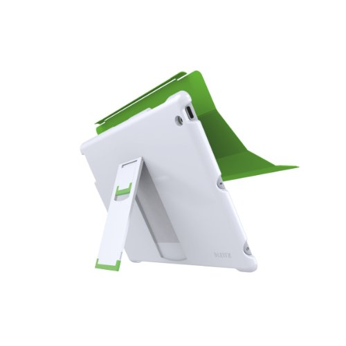 Leitz 62510001 Complete Case with Stand for New iPad/iPad 2 - White