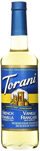 Torani Sugar Free French Vanilla Syrup, 25.35 Oz