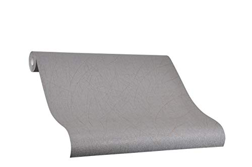 Tapete Bronze Uni - Risse - Ideal für Wohnzimmer - Colani Visions - Made in Germany - 10,05m X 0,70m - 53302