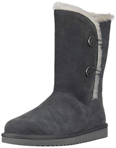 Koolaburra by UGG Women's W KINSLEI Tall Fashion Boot, Stone Grey, 11 Medium US
