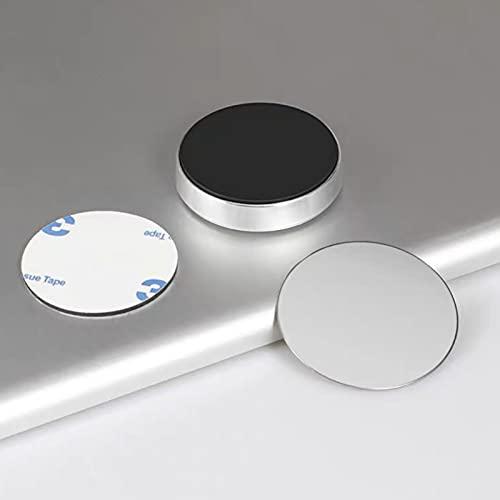 Auto-Zubehör Universal Auto Magnetische Halterung Auto Armaturenbrett Handyhalterung Auto Produkte Halterung für Auto Dekoration (Farbe Name: Silber)
