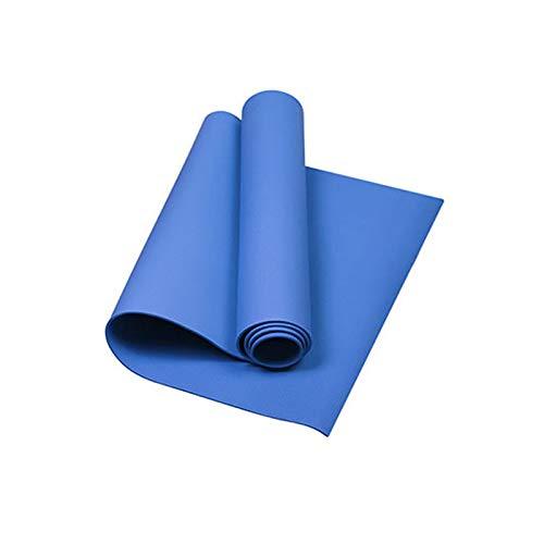 1730 x 600 x 4 mm. Alfombrilla antideslizante para yoga, para principiantes, protección ambiental, esterilla de fitness, deporte, esterilla de gimnasia para camping y exteriores