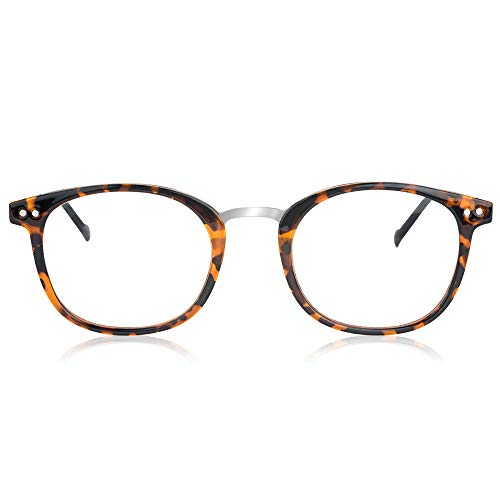In Style Eyes Gafas de lectura modernas, estilo clásico ovalado, Tortoise, M