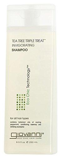 Giovanni Cosmetics Tea Tree Triple Treat Shampoo, 323 g