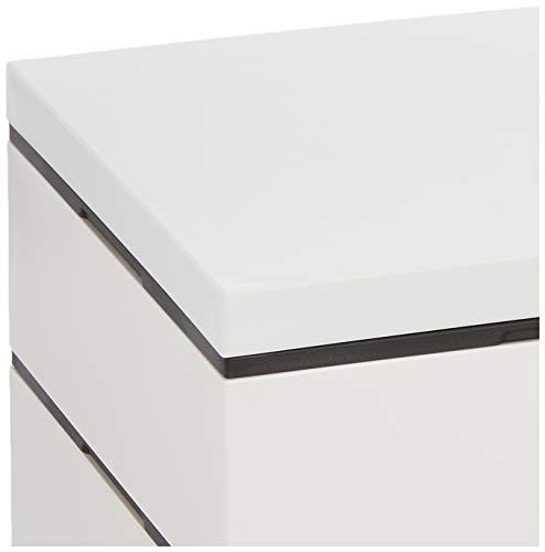 たつみや(Tatsumiya)三段重ホワイトホワイト18.0角54896