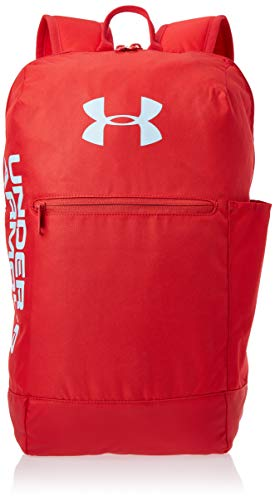 Under Armour Patterson Backpack Mochila, Unisex Adulto, Rojo (Red 633), Talla única