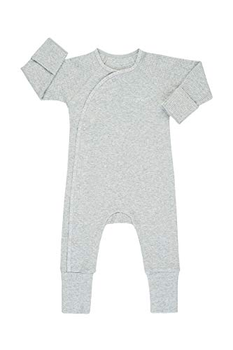 Bonds Baby Newbies Pointelle Cozysuit, New Grey Marle, 000 (0-3 Months)