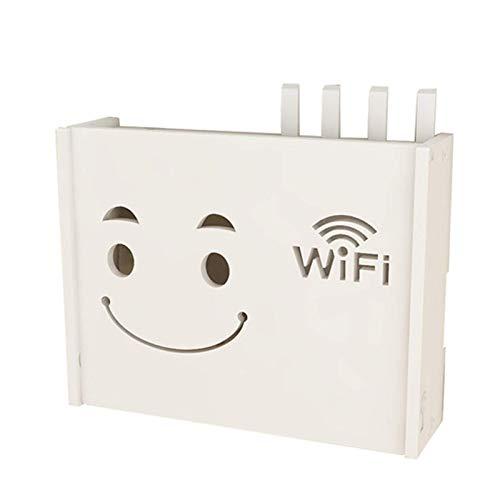 XJZKA Cajas de Almacenamiento de enrutador WiFi, Caja de Almacenamiento de Cable,...