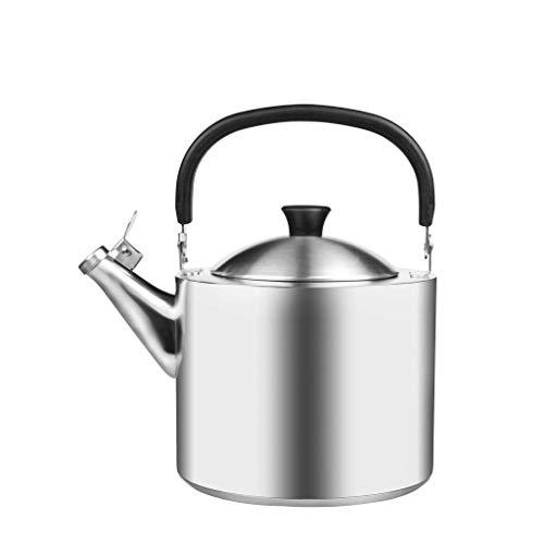 JXLBB Baril Kettle En Acier Inoxydable 304 Épaississant Du Ménage 3.5L Sifflet Induction Cuisinière À Gaz Bouilloire