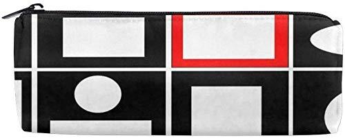 Modifique el bolso cilíndrico para requisitos particulares del lápiz del bolso de la caja de lápices del bolso de los efectos de escritorio de la cremallera de la vibración moderna